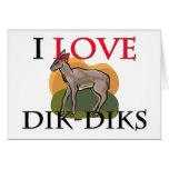 Amo Dik-Diks Felicitación