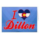 Amo Dillon, Colorado Felicitaciones