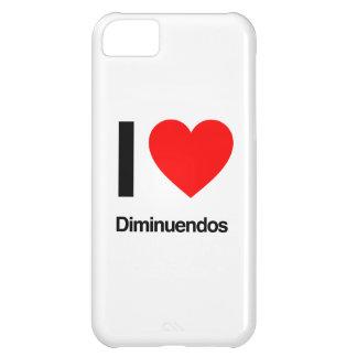 amo diminuendos funda para iPhone 5C