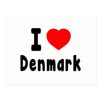 Amo Dinamarca Postal