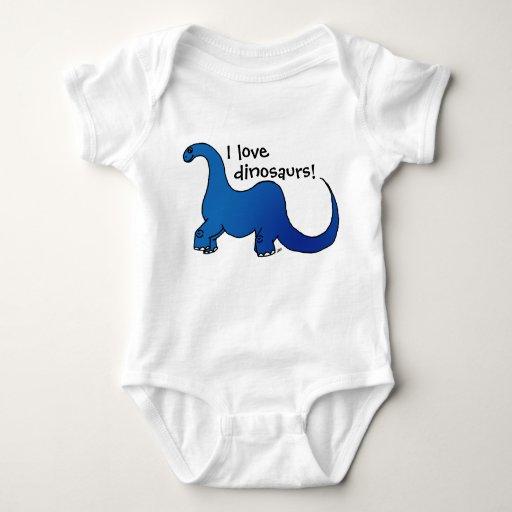 Amo dinosaurios camisetas