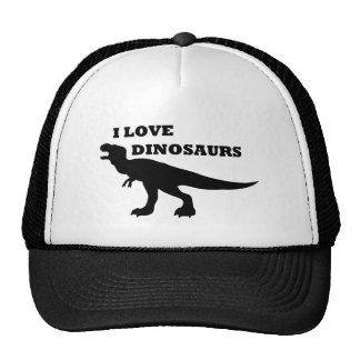 ¡Amo dinosaurios! Gorra