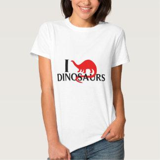 Amo dinosaurios poleras