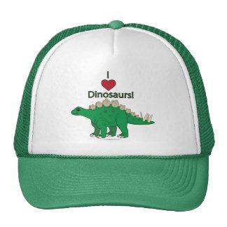 Amo dinosaurios: Stegosaurus Gorra