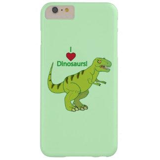 Amo dinosaurios: T-Rex Funda Barely There iPhone 6 Plus