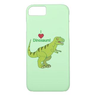 Amo dinosaurios: T-Rex Funda iPhone 7