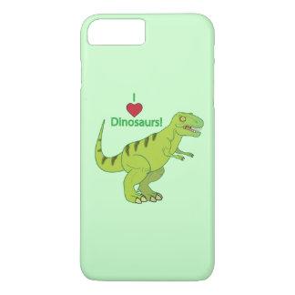 Amo dinosaurios: T-Rex Funda iPhone 7 Plus