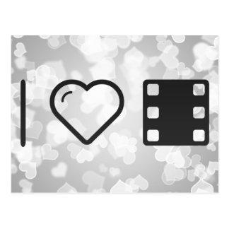 Amo directores de cine tarjetas postales