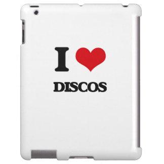 Amo discos funda para iPad