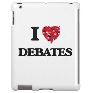 Amo discusiones funda para iPad