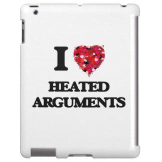 Amo discusiones Heated Funda Para iPad