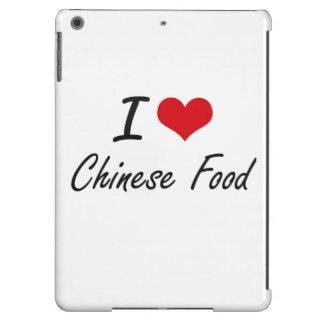 Amo diseño artístico de la comida china funda para iPad air