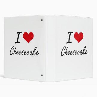 """Amo diseño artístico del pastel de queso carpeta 1"""""""