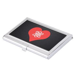 Amo diseño de la bomba atómica caja de tarjetas de negocios