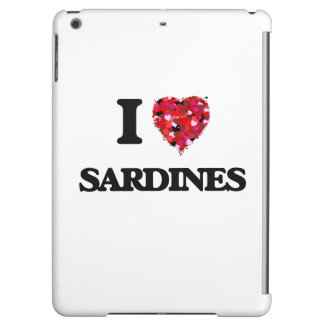 Amo diseño de la comida de las sardinas