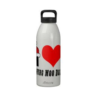 Amo diseño de la gama del MOO de Chungkin Botellas De Agua Reutilizables
