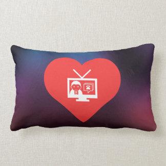 Amo diseño de las difusiones de TV Almohadas