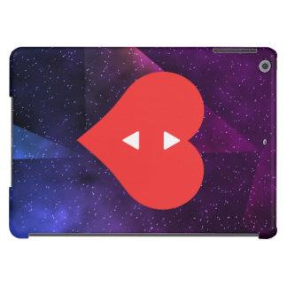 Amo diseño de las llaves de teclado funda para iPad air