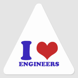 Amo diseño de los ingenieros colcomanias trianguladas