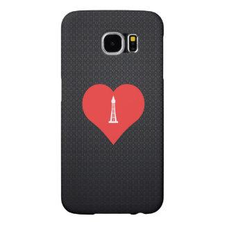 Amo diseño de torre del NC Fundas Samsung Galaxy S6