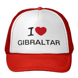 Amo diseño del gorra de los camioneros de Gibralta