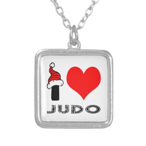 Amo diseño del judo colgantes personalizados