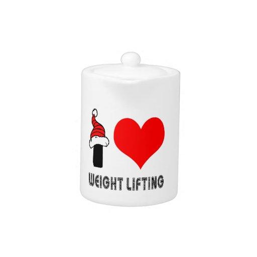 Amo diseño del levantamiento de pesas