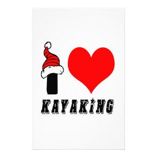 Amo diseño Kayaking Papeleria Personalizada