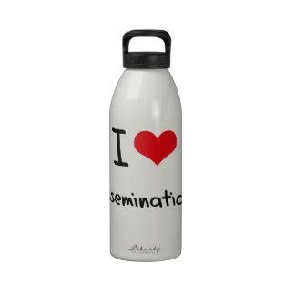Amo Disseminations Botella De Agua Reutilizable