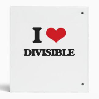 """Amo divisible carpeta 1"""""""
