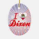 Amo Dixon, California Ornamento Para Arbol De Navidad