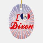 Amo Dixon, Iowa Ornamente De Reyes