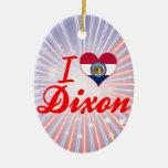 Amo Dixon, Missouri Ornamentos De Navidad
