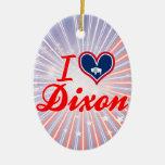 Amo Dixon, Wyoming Adorno De Navidad
