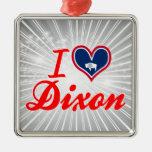 Amo Dixon, Wyoming Ornamento Para Arbol De Navidad