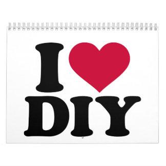 Amo DIY Calendarios