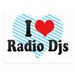Amo Djs de radio Postales