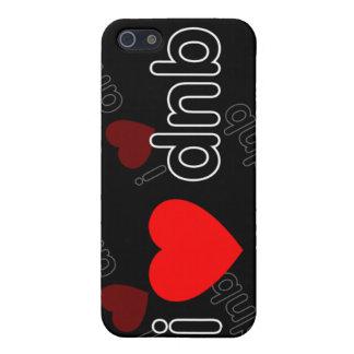 Amo DNB DJ y música i iPhone 5 Cárcasas