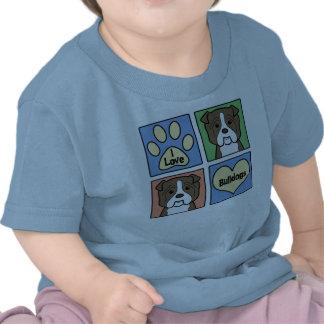 Amo dogos camisetas