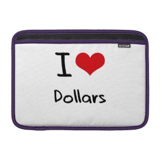 Amo dólares funda  MacBook