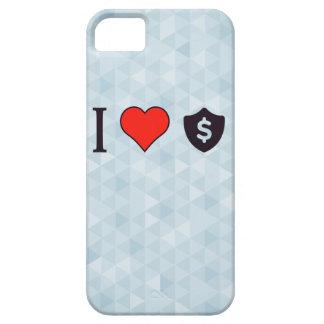 Amo dólares funda para iPhone 5 barely there