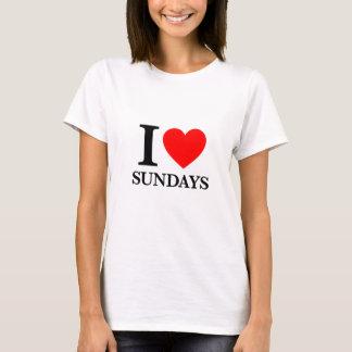Amo domingos playera