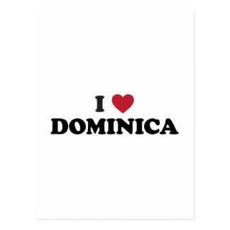 Amo Dominica Tarjetas Postales