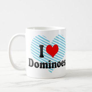 Amo dominós taza