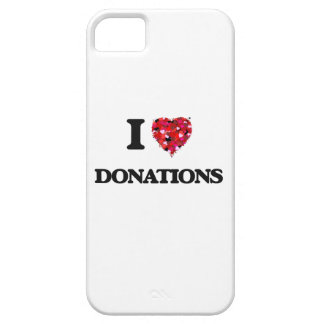 Amo donaciones iPhone 5 carcasas
