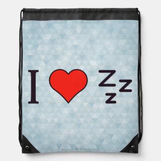 Amo dormir mochilas