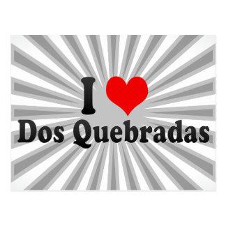 Amo DOS Quebradas, Colombia Tarjetas Postales