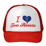 Amo dos ríos, Wisconsin Gorros Bordados