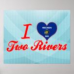 Amo dos ríos, Wisconsin Posters