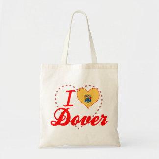 Amo Dover, New Jersey Bolsa Tela Barata